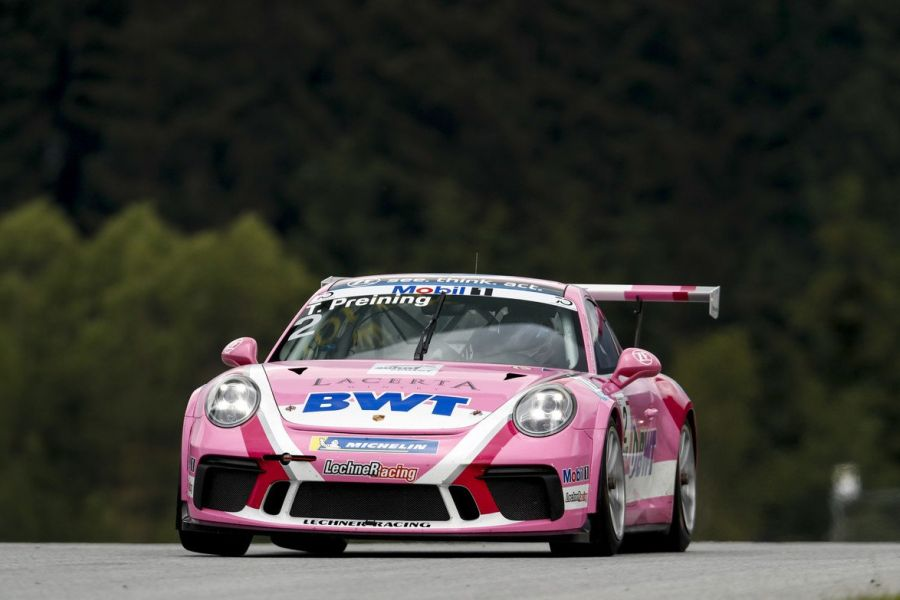 Thomas Preining triumphed in Porsche Supercup race at Red Bull Ring