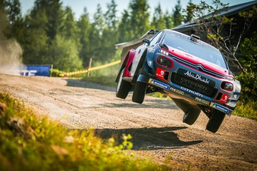 Rally Finland Mads Ostberg 1