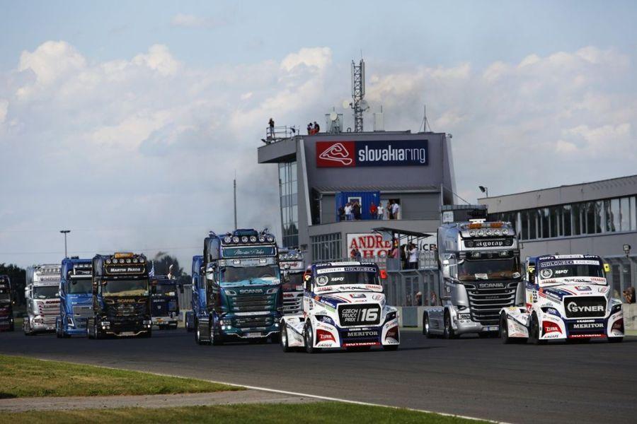 Truck race, Slovakia Ring