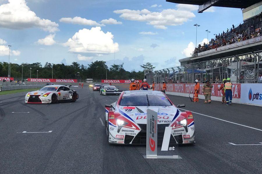 Super GT Series, Buriram Thailand, Heikki Kovalainen, Kamui Kobayashi