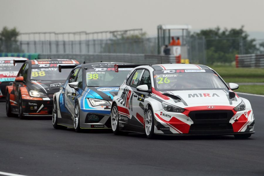 TCR Europe Series Hungaroring