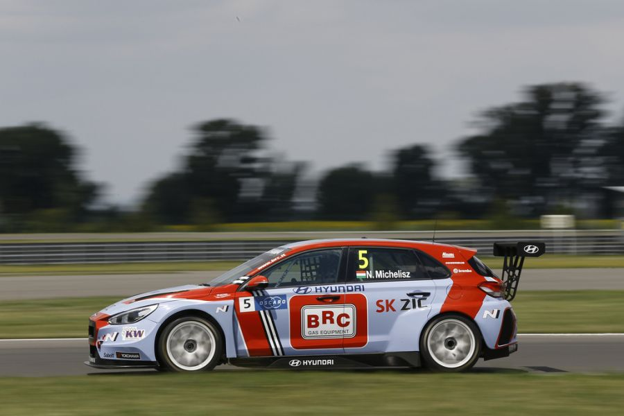 2018 FIA WTCR World Touring Car cup race of Slovakia at Slovakia Ring