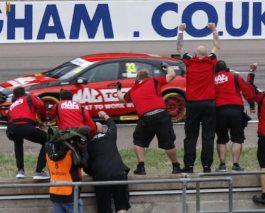 BTCC at Rockingham: Victories for Morgan, Sutton, Smiley