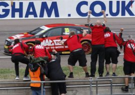 BTCC Rockingham Adam Morgan