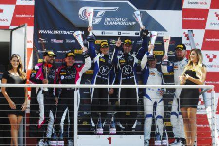 British GT Championship, Brands Hatch podium