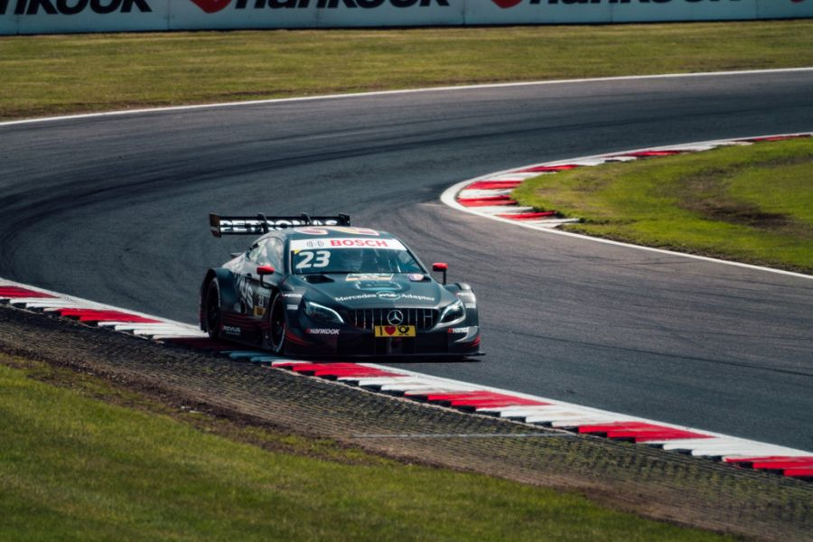 Dani Juncadella wins the DTM race at Brands Hatch