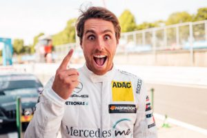 Dani Juncadella wins the DTM race at Brands Hatch