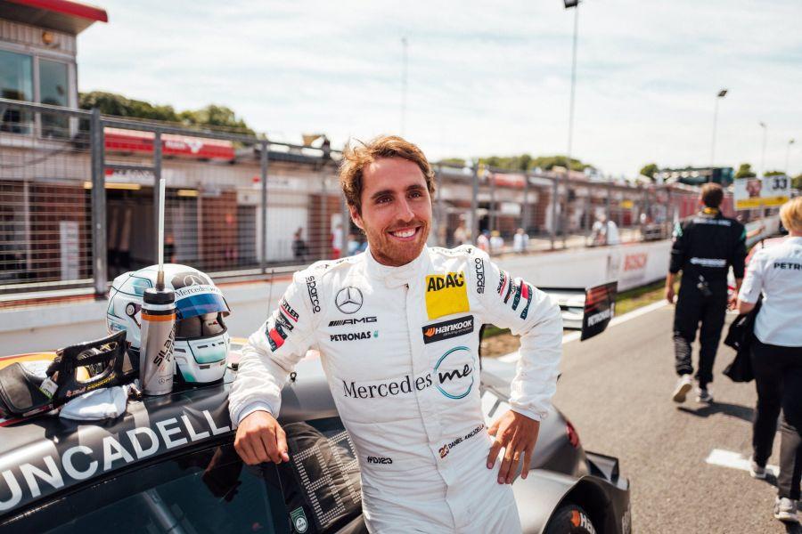 Dani Juncadella at Brands Hatch
