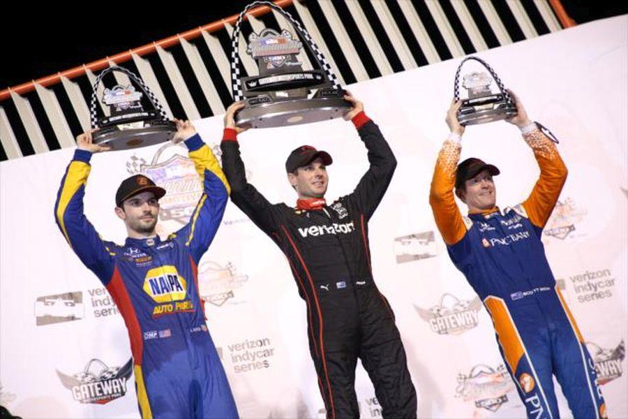 IndyCar Series, Gateway Motorsports Park podium