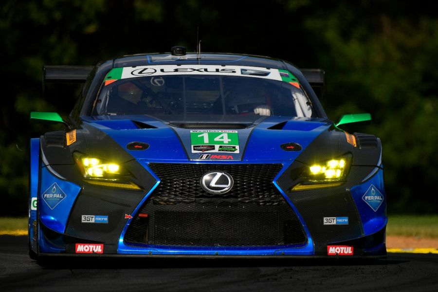 Second win of the season for the #14 Lexus RC F GT3