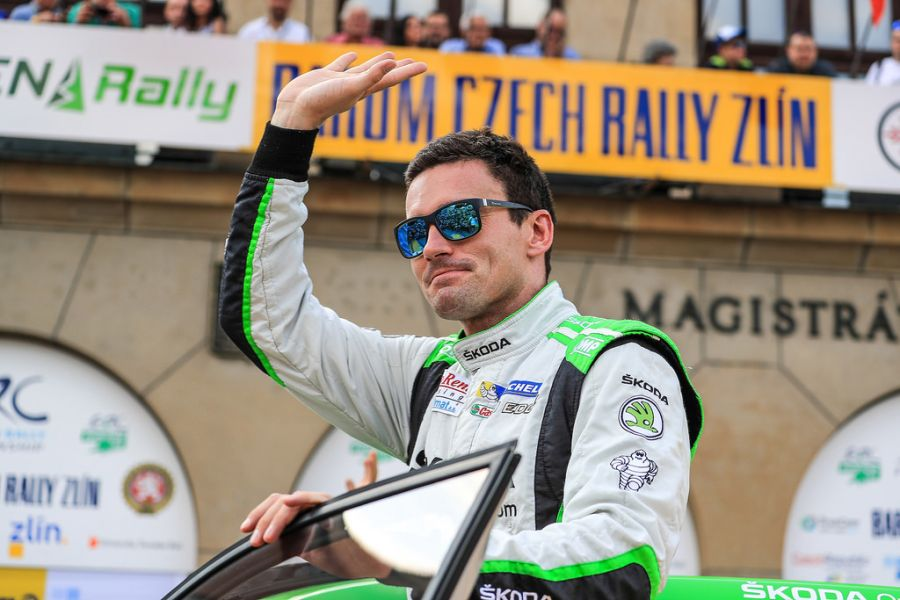 Jan Kopecky triumphed seven time at Barum Czech Rally Zlin between 2004 and 2017