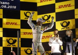 Joel Eriksson wins DTM race at Misano