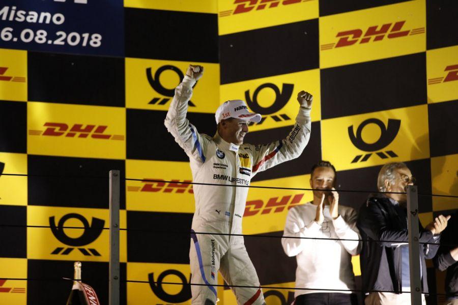 Joel Eriksson wins DTM race at Misano