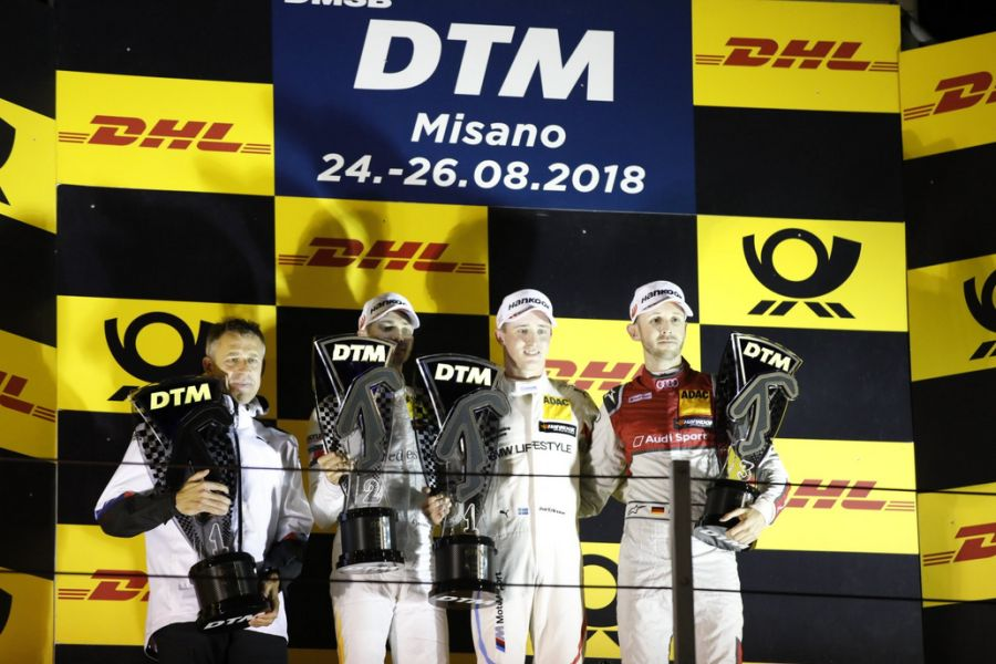 DTM Misano podium
