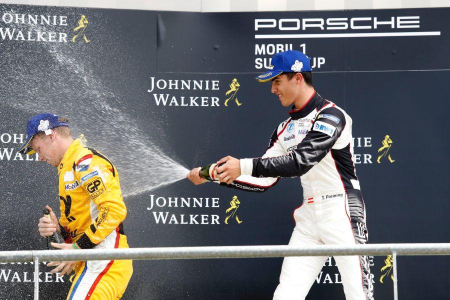 Porsche Supercup Spa Thomas Preining