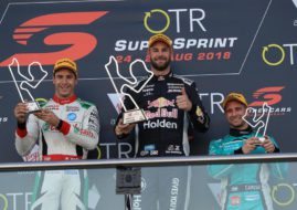 Shane van Gisbergen wins The Bend SuperSprint