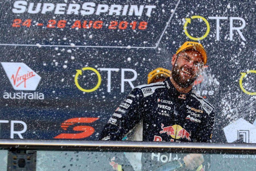 Sixth win of the season for Shane van Gisbergen