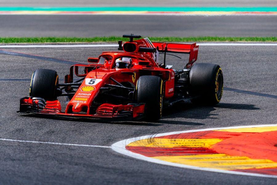 Sebastian Vettel, Ferrari, Belgian Grand Prix