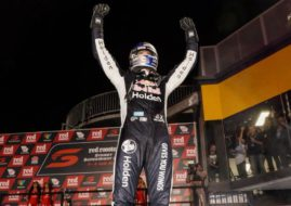 Shane van Gisbergen wins the Sydney SuperNight race