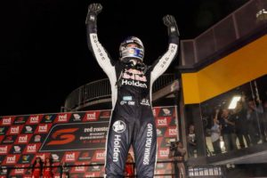 Shane van Gisbergen wins the Sydney SuperNight race