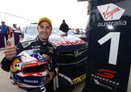 Jamie Whincup wins at The Bend
