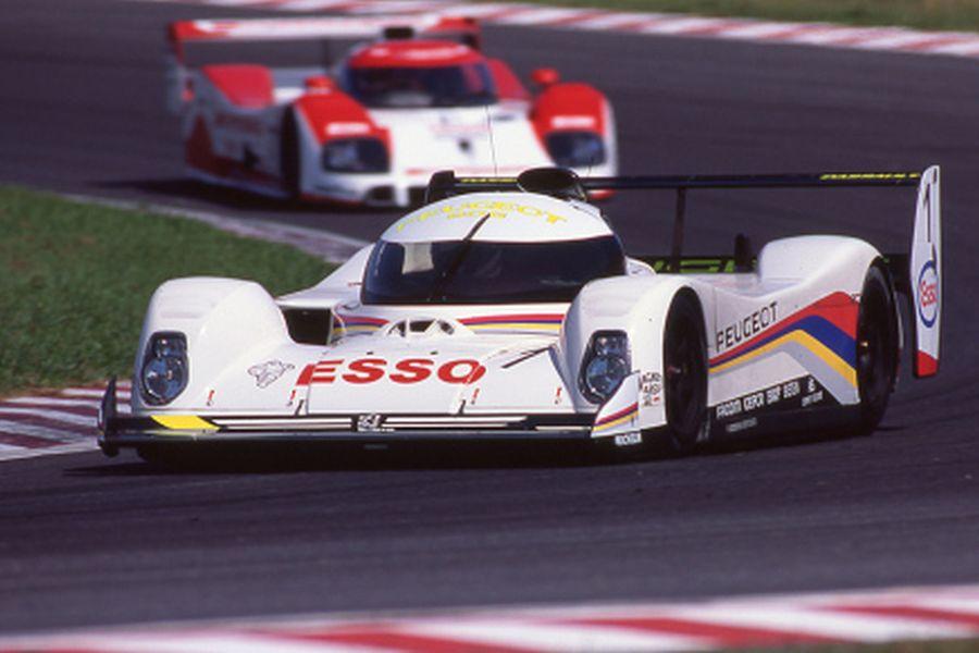 Peugeot 905, Derek Warwick, Yannick Dalmas