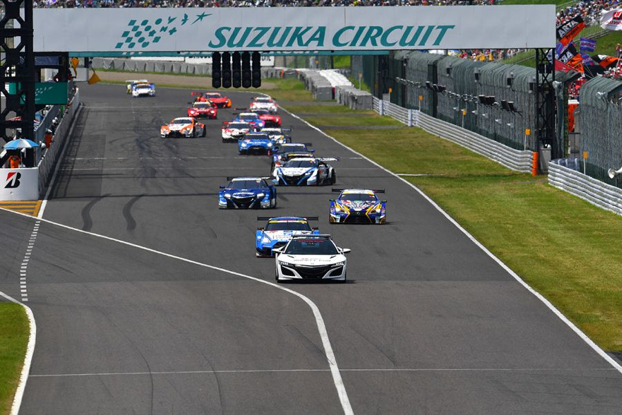Suzuka 1000 was a part of the Super GT Series from 2006 to 2017