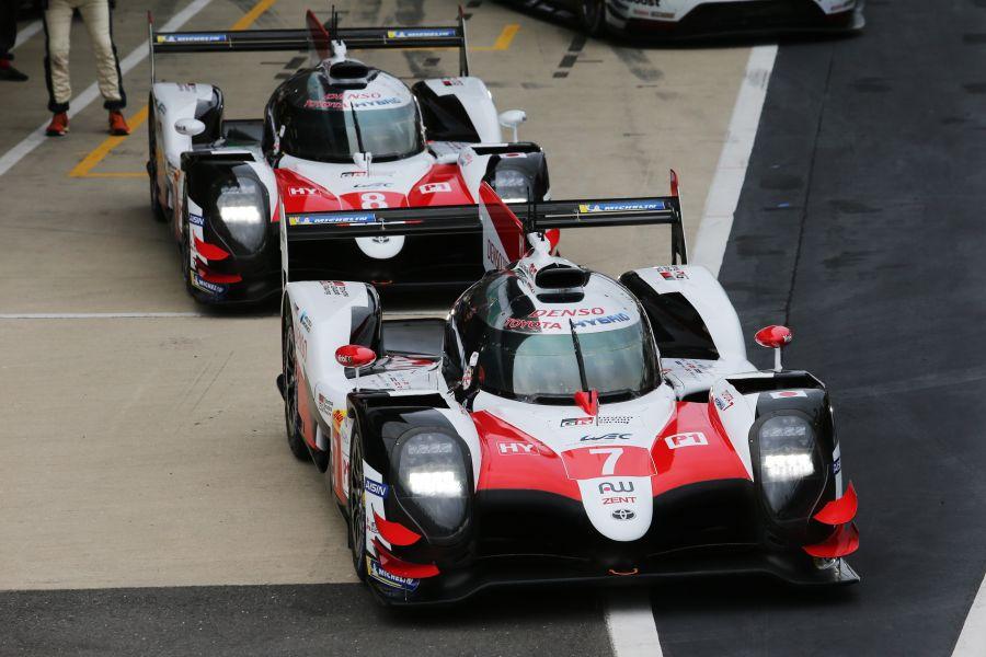FIA WEC Silverstone Toyota Gazoo Racing