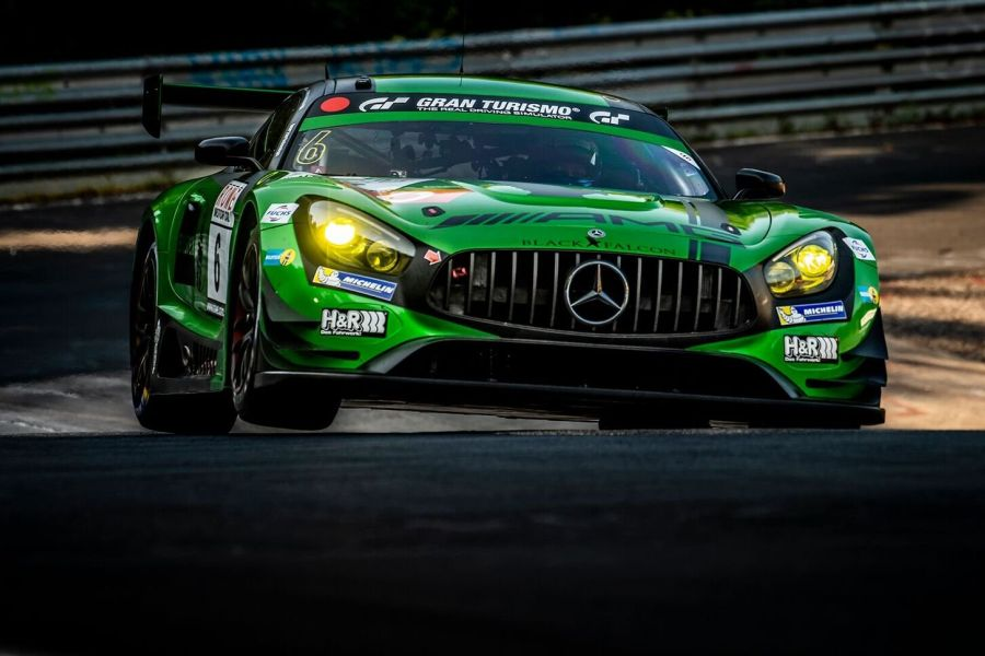 VLN round 5 Black Falcon Mercedes