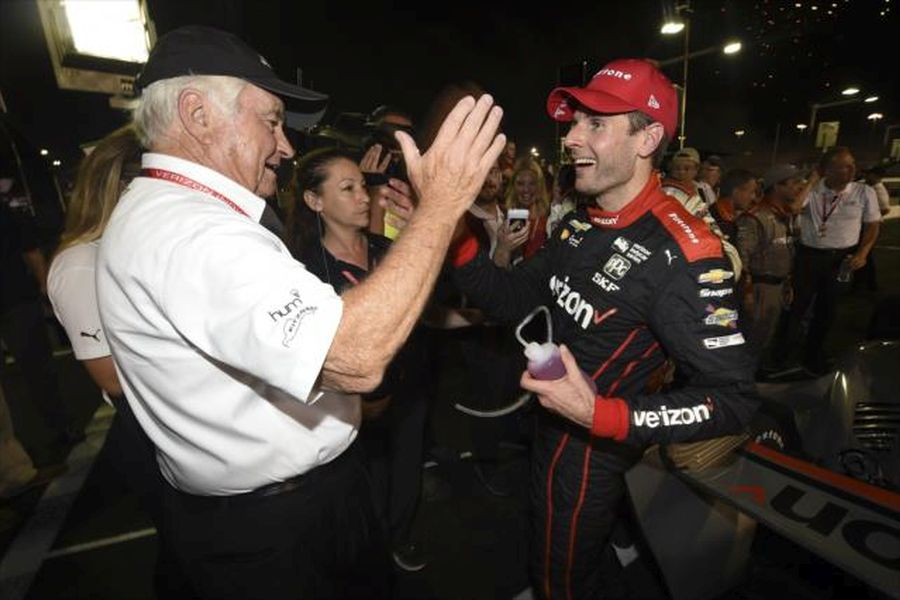 Will Power and The Captain Roger Penske