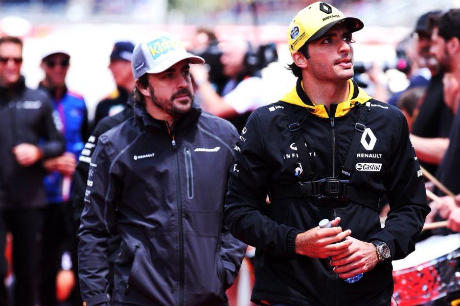 Fernando Alonso, Carlos Sainz Jr