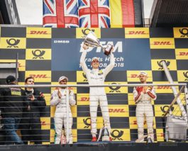 1-2 for Brits in DTM's second race at Brands Hatch
