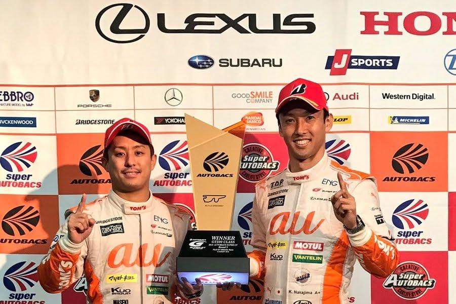 Yuhi Sekiguchi, Kazuki Nakajima, Fuji 500 Miles winners