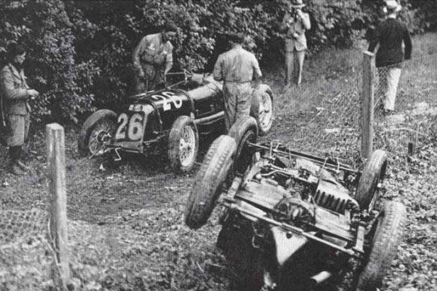 1933 Monza Grand Prix, Baconin Borzacchini, Giuseppe Campari