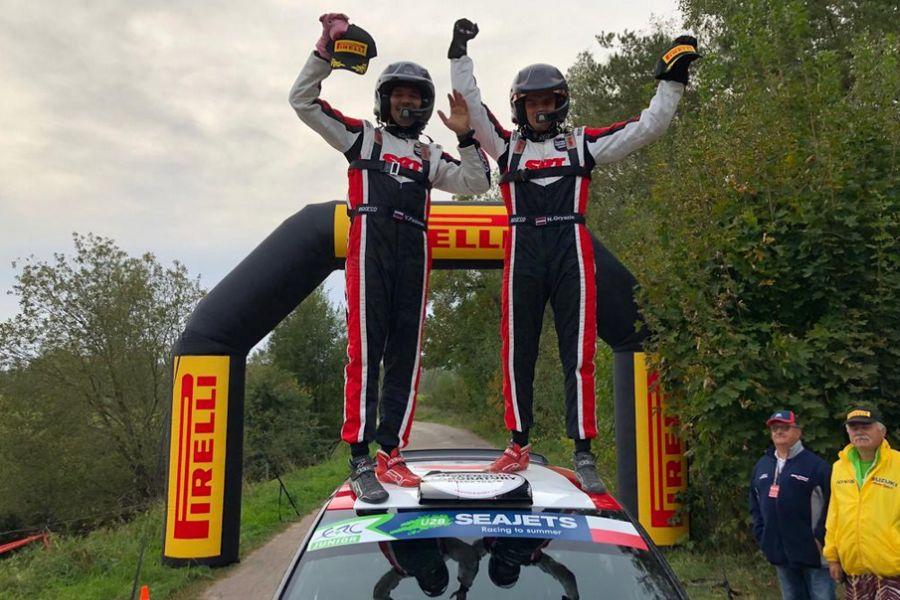 Nikolay Gryazin wins 2018 Rally Poland