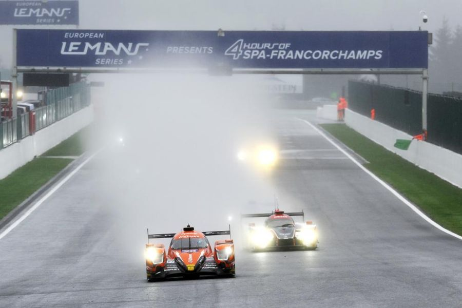 ELMS, 4 Hours of Spa,start, G-Drive Racing