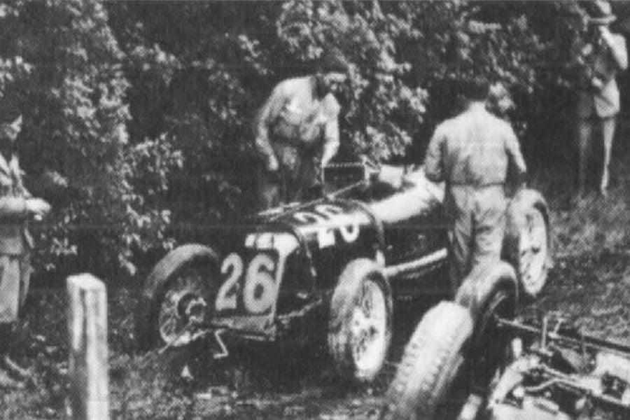 Baconin Borzacchini 1933 Monza Grand Prix