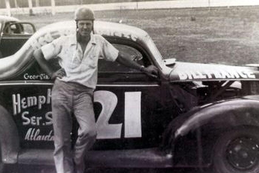 Bill France as a racer
