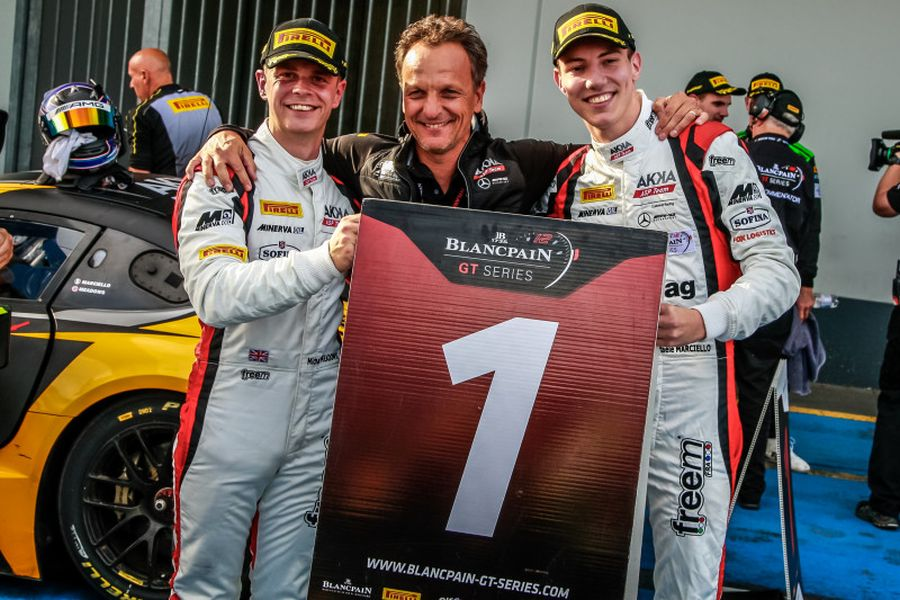 Blancpain GT Series Sprint Cup, Michael Meadwos, Raffaele Marciello