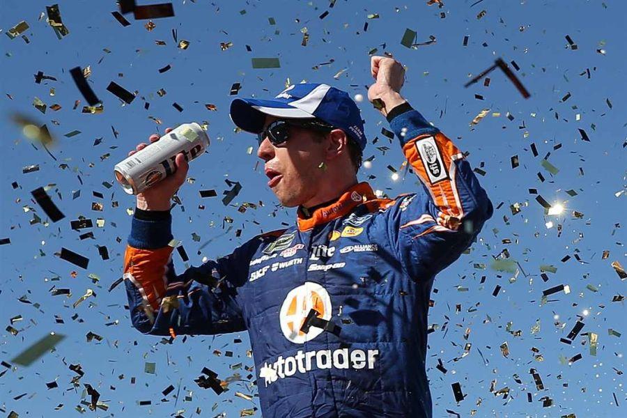 Brad Keselowski wins at Las Vegas