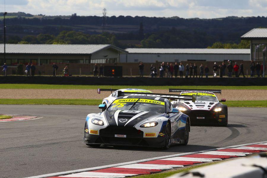 Jonny Adam, Flick Haigh, Optimum Motorsport Aston Martin Vantage Gt3