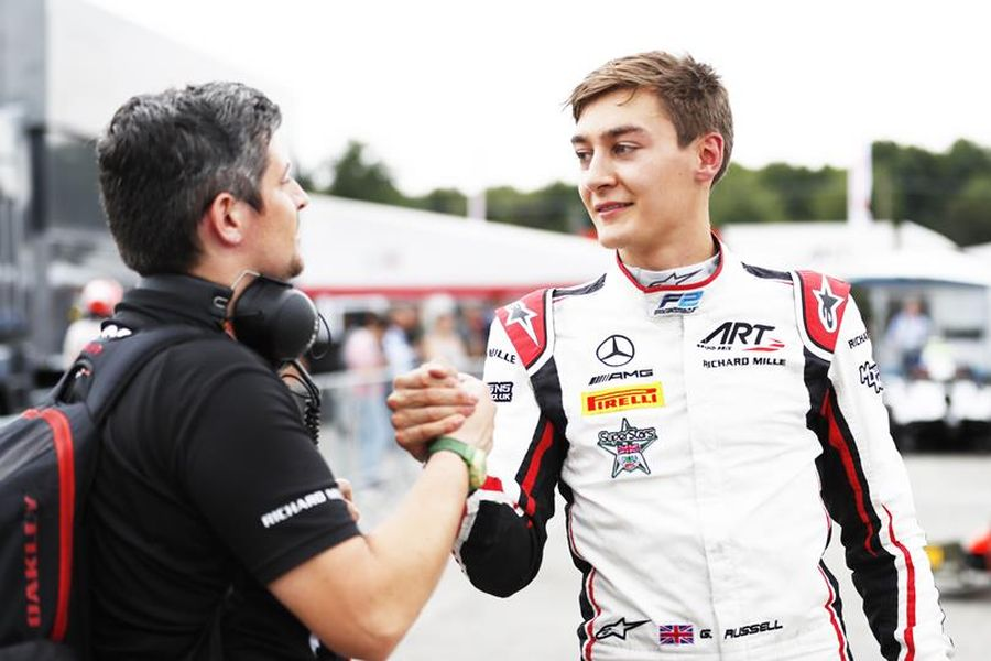 F2 Monza, George Russell