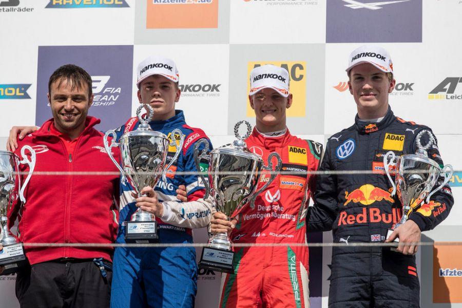 F3 Nurburgring podium