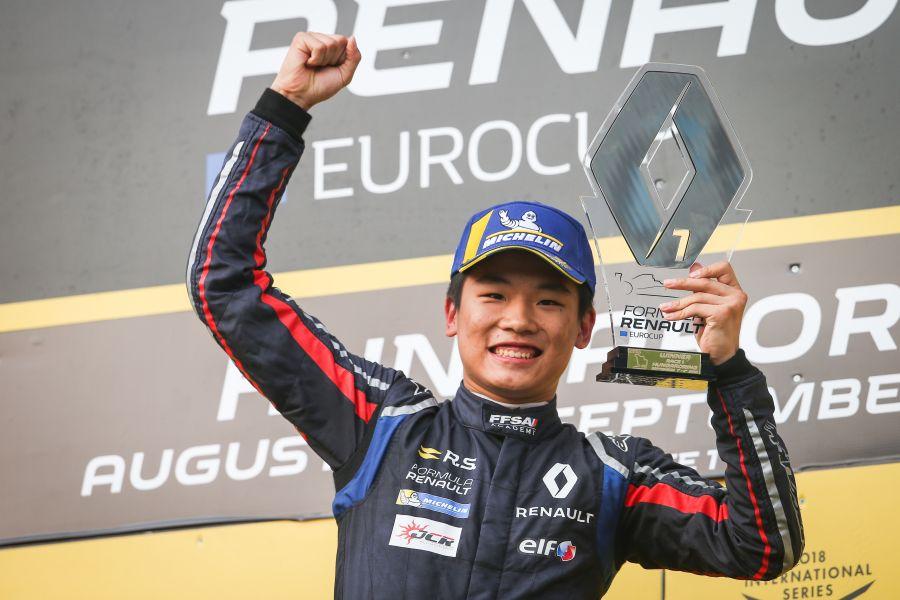 Formula Renault Eurocup, Hungaroring, Yifei Ye