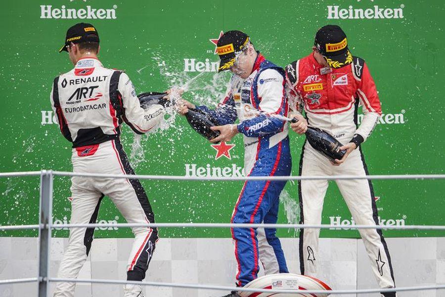 GP3 Series Monza podium
