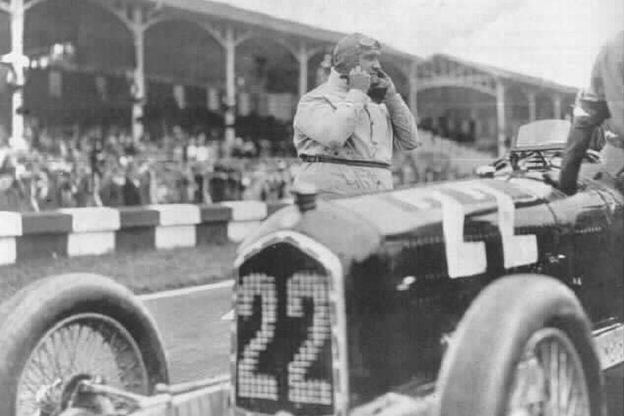Giuseppe Campari 1933 Monza Grand Prix