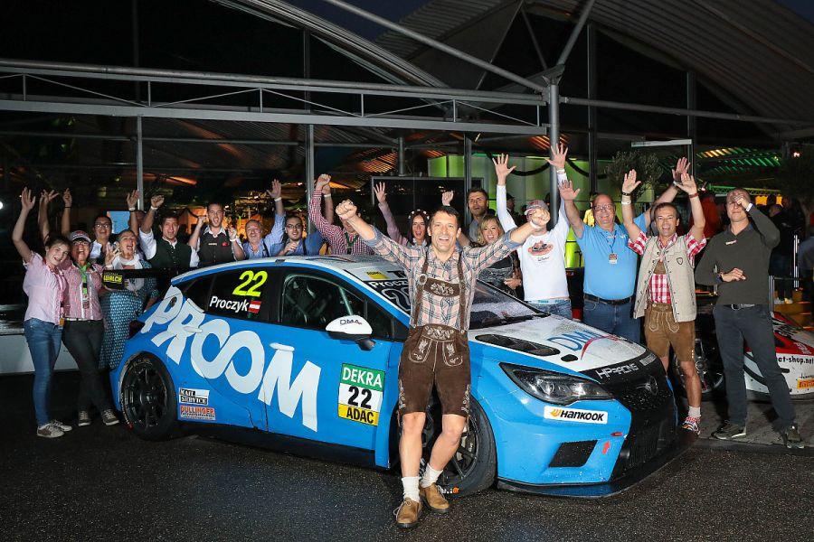 Hari Proczyk 2018 ADAC TCR champion 2
