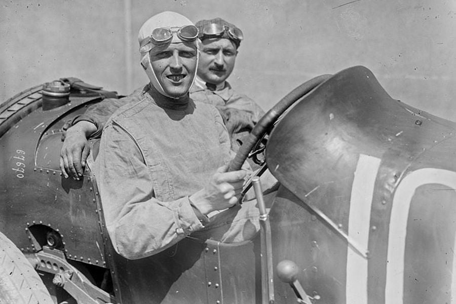 Henry Segrave at 1921 French Grand Prix
