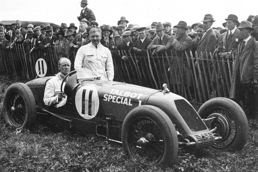 Henry Segrave in a Talbot Special