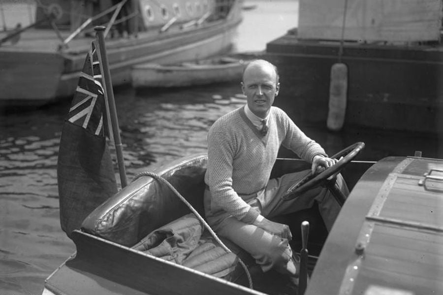 Henry Segrave set the water speed record with 'Miss England II' and then lost a life in the same boat
